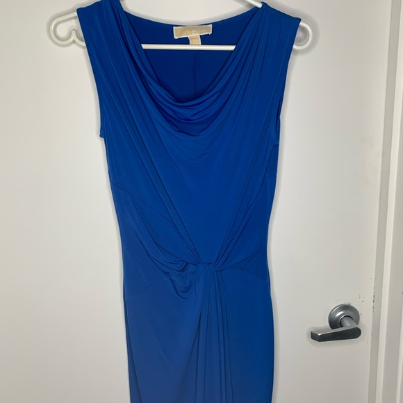 Michael Kors dress in royal blue